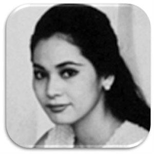 デヴィ夫人,若い頃,きれい,入れ歯,白黒